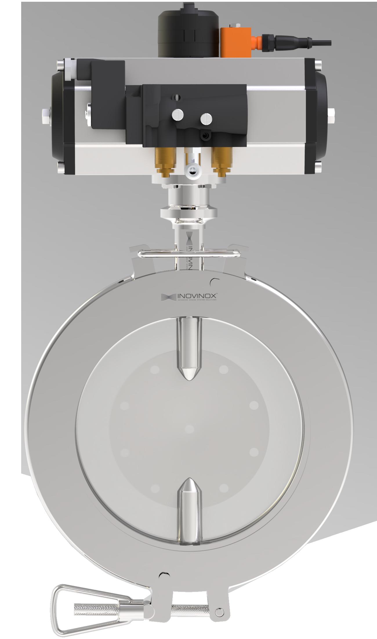 Flexivalve with actuator